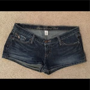 Abercrombie & Fitch Denim Jean Shorts